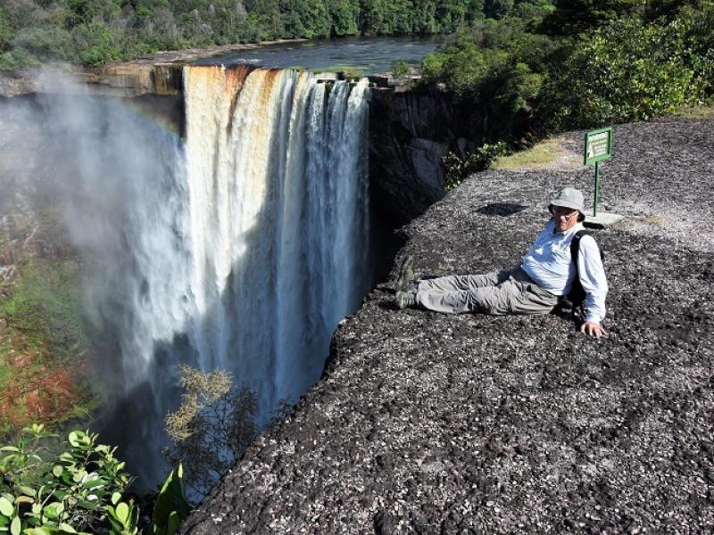 Guyana (former British Guyana) : Kaieteur Falls (2016)