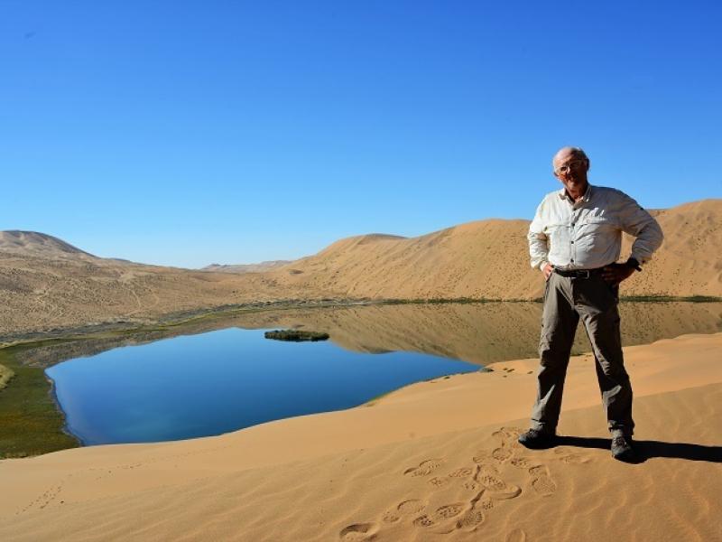 Mongolie intérieure (Chine) : désert du Badain Jaran (2013)