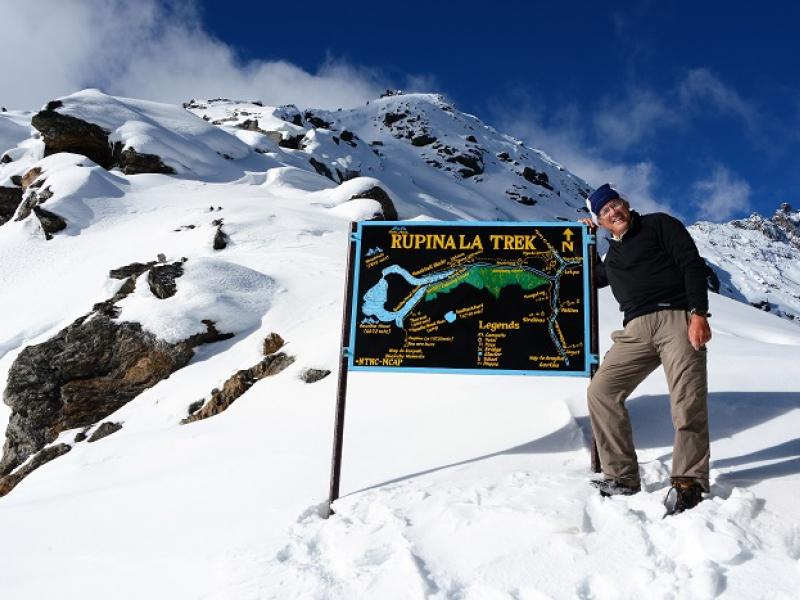 Népal : passage du Rupina La (2013)